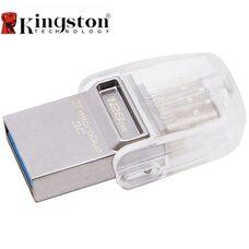 128GB USB3.1 Kingston DataTraveler MicroDuo, Ultra-small, USB OTG Type C (O