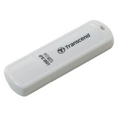 128GB USB Flash Drive  Transcend JetFlash 730, White