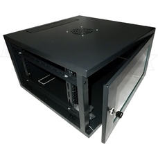 "19"" Wall Mounted cabinet 15U, AP6415, 600x450x770"