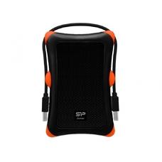"""2.0TB Silicon Power """"Armor A30"""", Black-Orange"""