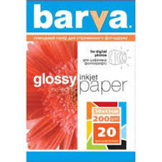 4R 200g 20p Glossy Inkjet Photo Paper Barva