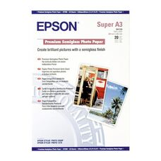 A3+ EPSON Premium Semigloss Photo Paper C13S041328