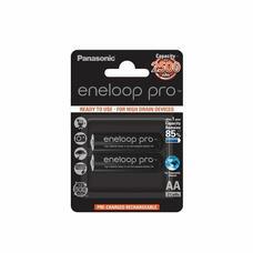 AA  Eneloop PRO 2500mAh, Blister*2, Panasonic, BK-3HCDE/2BE