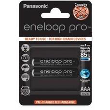 AAA  Eneloop PRO 930mAh, Blister*2, Panasonic, BK-4HCDE/2BE