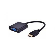 Adapter Gembird A-HDMI-VGA-04, HDMI to VGA, male-female