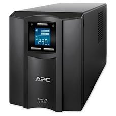 APC Smart-UPS C 1500VA /900 Watts, LCD status console, Input/Output 23