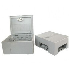 Box for plinths, 30 pairs distribution box without krone moudle