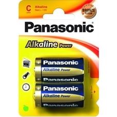 """C size  Panasonic """"ALKALINE Power"""" 1.5V, Alkaline, Blister*2"""