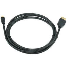 Cable HDMI(micro)  CC-HDMID-6, 1.8 m, HDMI male to micro D-male, Black