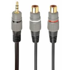 Audio cable RCA (M) to 2x RCA (F) - 0.2m - Cablexpert CCAP-RCAM2F-0.2M