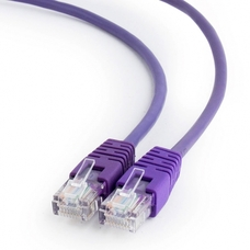 0.25m, Patch Cord Purple, Cat.5E, Cablexpert PP12-0.25M/V