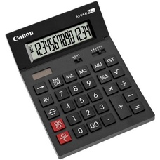 Calculator Canon AS-2400, Black, 14 digit , Large LCD (91.5x23.8mm), C