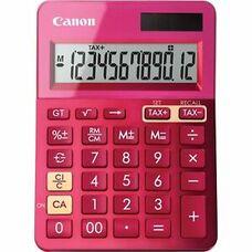 Calculator Canon LS-123K PK, 12 digit, Pink