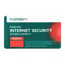 Продление лицензии - Kaspersky Internet Security - 1 device, 12 months