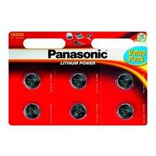 CR2032, Blister*6, Panasonic