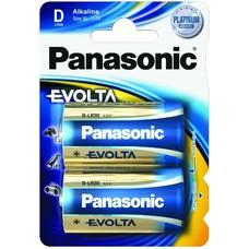 """D size  Panasonic  """"EVOLTA"""" 1.5V, Alkaline, Blister*2, LR20E"""