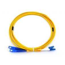 Fiber optic patch cords, singlemode duplex core SC-LC  3M, FO1020, APC