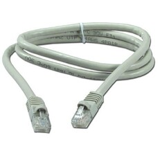 "FTP Patch Cord Cat.5E, 0.5m, molded strain relief 50u"" plugs"
