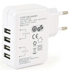 Universal USB Charger - Gembird GMB EG-U4AC-02