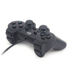 Gembird JPD-UDV-01 Dual vibration gamepad, 2 sticks, 4-way D-pad and 10 act