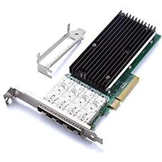 Intel Server Adapter X710DA4,  PCIe 3.0 x8, Quad SFP+ Port 10G