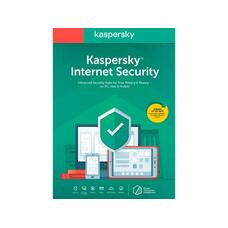 Kaspersky Internet Security Card 5 Dev 1 Year Renewal