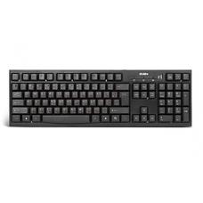 Клавиатура SVEN  Standard 304 Black USB+HUB