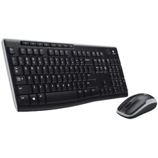 Комплект Logitech Wireless Desktop MK 270, Retail