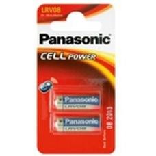 "LR08 Panasonic ""CELL Power"" 12V, Alkaline, Blister*2, LRV08L"