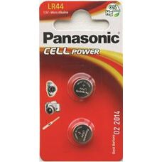"LR44 Panasonic ""CELL power"" Blister*2, LR-44EL/2B"