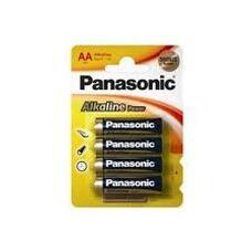 "Panasonic ""ALKALINE Power"" AA Blister* 4, Alkaline, LR6REB/4"
