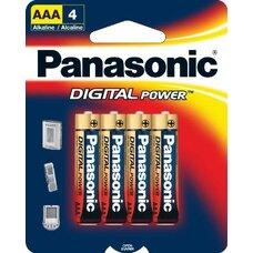 "Panasonic ""ALKALINE Power"" AAA Blister* 4, Alkaline, LR03REB"