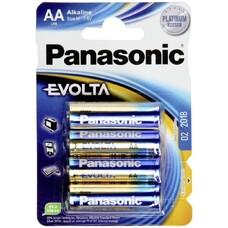"Panasonic   ""EVOLTA"" AA Blister*4, Alkaline, LR6EGE/4BP"
