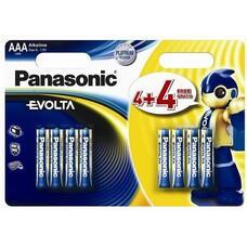 "Panasonic   ""EVOLTA"" AAA Blister *8, Alkaline, LR03EGE/8B2F"