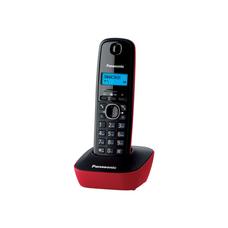 Panasonic KX-TG1611UAR, Red, AOH, Caller ID