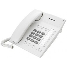 Panasonic KX-TS2382UAW, White, Ringer Indicator, One-Touch Dialer of 2