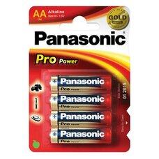 "Panasonic   ""PRO Power"" AA Blister*4, Alkaline, LR6XEG/4BP"