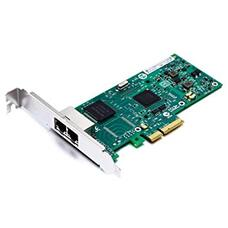 PCI-e Intel Server Adapter I350-T2,  Dual Copper Port 1Gbps