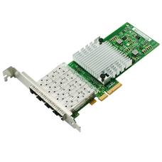 PCI-e Intel Server Adapter Intel I350AM4,  Quad SFP Port 1Gbps