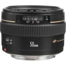 Prime Lens Canon EF 50mm, f/1.4 USM