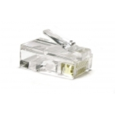 "RJ45 Modular Plug, Cat.5E, LY-US005, Long Type, 3u"" Gold plated,"
