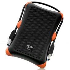 """1.0TB Silicon Power """"Armor A30"""", Black-Orange"""