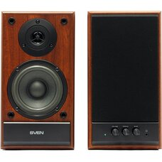 "Speakers SVEN ""SPS-702"" Walnut (Орех), 40w"