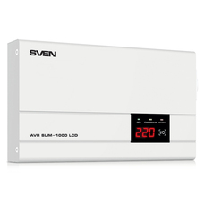 Stabilizer Voltage SVEN AVR -1000 LCD, SLIM 1000W