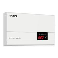 Stabilizer Voltage SVEN AVR -500 LCD, SLIM 500W