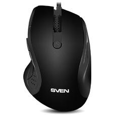 Мышь SVEN RX-113, Optical Mouse, Black