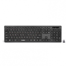 Беспроводная клавиатура SVEN  Standart Slim KB-E5900W Black