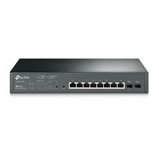 ".8-port Gigabit  Smart PoE+ Switch, TP-LINK ""T1500G-10MPS"", with"