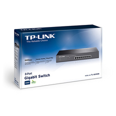 "8-port 10/100/1000Mbps Switch TP-LINK ""TL-SG1008"", Plastic"