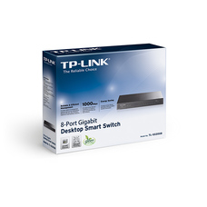 "8-port 10/100/1000Mbps Switch  TP-LINK ""TL-SG2008"" Layer 2 F"